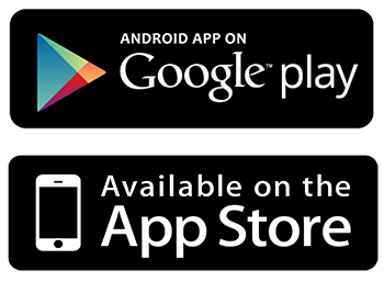 App Store - Google Play Button